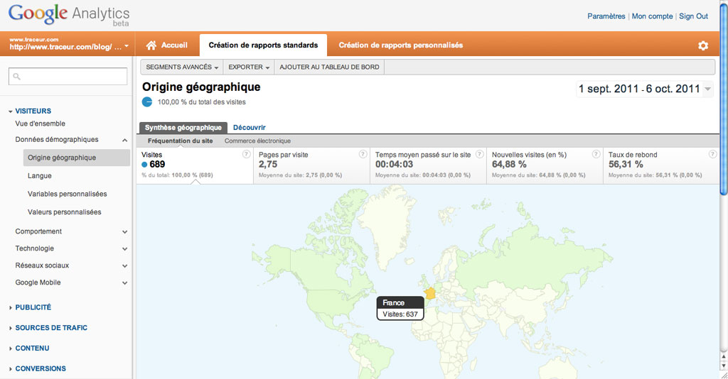 Blog Traceur analytics géo sept 2011
