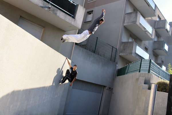 Rudy Duong Traceur Parkour