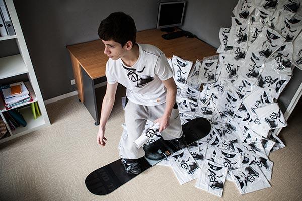 Erwan Patras - TRACEUR - En Mode swonboarder