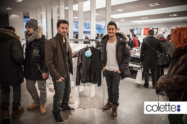 Rudy Duong et Franck Y Vannara - Veste INSTANT TRACEUR chez colette Paris