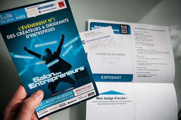 Salon des Entrepreneurs - Paris CCI île-de-France