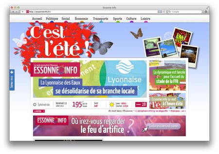 Essonne info 10-07-12 - Économie : Traceur, l'esprit du Parkour en vêtements