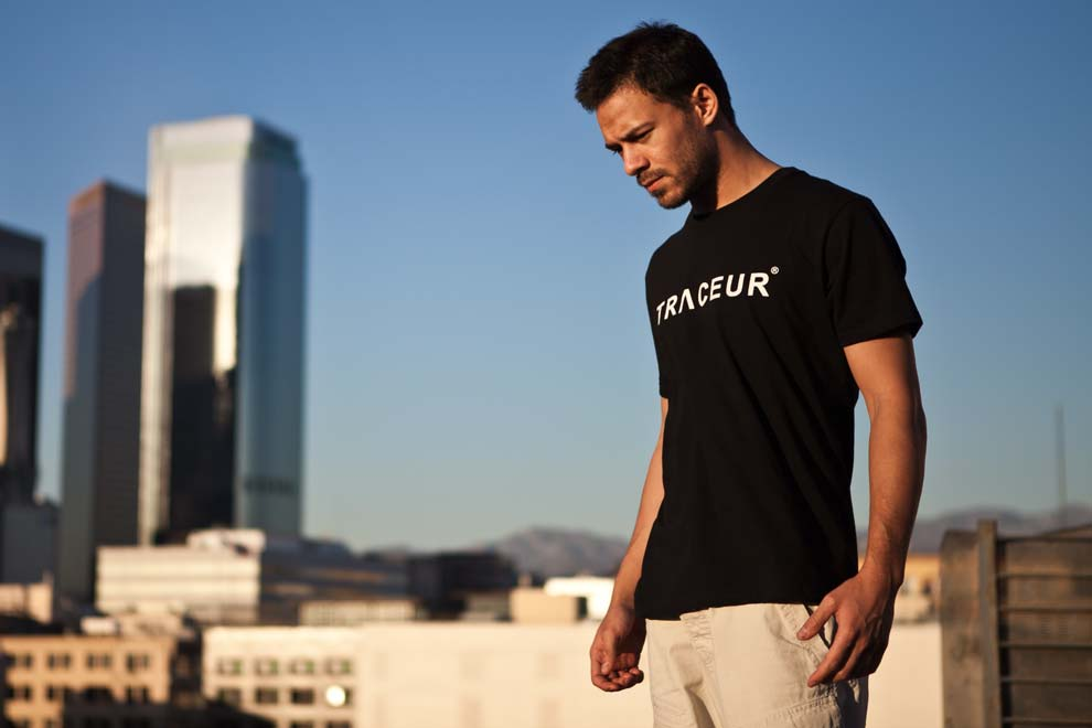 Rudy Duong T-shirt BASIC TRACEUR - Down Town - Los Angeles